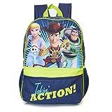 Toy Story 4 Rucksack, Forky Kinder Rucksack Mit Offiziellen Toy Story Forky, Woody, Buzz, Bo Peep, Kinder Schultasche, Schulranzen Mit Verstellbaren Trägern, Perfekt Reisetasche, Geschenke Für Kinder