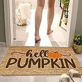 SOIUTAO Halloween Fußmatte Decke Personalisierte Haustür Dekoration Eingang Bodenmatte Dekoration