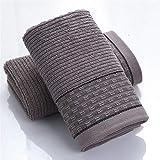 ZHUSHI-MJ. Geometric Beauty Face Handtuch Dick Weich 100% Baumwolle 34x75cm Streifen Spa Handhaar Handtuch Home Badezimmer Schwimmen Für Erwachsene (Color : B)
