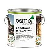 OSMO Landhausfarbe nordisch-rot 2.500