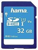 32 GB C10 Uhs-I SDHC, 80 MB/S, Blanko-Flash-Speichertyp SDHC-Karte, UHS-1, Klasse 10, Speicherkapazität 32 GB, Blanko-Medien- und Flash-Speicherkarten