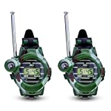Talkie Armbanduhr, für Kinder, mit Langer Reichweite, Radiosender, Camo, Armee-Spielzeug, 2 Stück