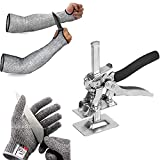 Arbeitssparende Viking Arm,Multifunktionale Pflasterblatt Reparatur Anti-Rutsch Trockenbauheber Hand Heben Werkzeug Arm Präzision Klemmwerkzeug(+ Anti-Schneid-Kit)