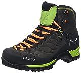 Salewa Herren MS Mountain Trainer Mid Gore-TEX Trekking- & Wanderstiefel, Black/Sulphur Spring, 46 EU