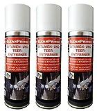 3 Stück à 0,3 Liter Bitumenentferner Teerentferner Reiniger Teer Bitumen Öl Fett Teerreiniger Bitumenreiniger