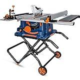 PPLAS 10-Zoll-Holzbearbeitungs-Tischsäge Haushalt Elektrische Werkzeug Schneidemaschine Staubfreie multifunktionale Holzschneidsägen (Color : A)