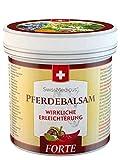 SwissMedicus - Pferdebalsam wärmend extra stark - Pferdesalbe Forte 500 ml - wärmendes Massage-Gel für Rücken und Gelenke - ideal für Sportler - enthält 25 Kräuterextrak