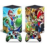 Mario Skin Sticker für Xbox Series X Konsole und Controller
