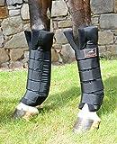 VITANDAR Therapeutische Stallgamaschen für Pferde mit Infraroteffekt, Extra Lang für Gelenksupport, 1 Paar, vorn (XS-Pony)