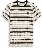 HARLEY-DAVIDSON Herren-Shirt Streifen-Tee Shirt T-Shirt Ringermuster Aufnäher, L