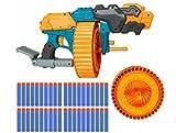 OMNA NERF Shooting Sports Blaster, 40 Nerf Darts, 40-Dart Clip-Magazin