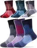 Sandsuced Kinder Wolle Socken 6 Paare Kleinkinder Jungen Mädchen Kinderstiefel Warme Winter-Wärmekabine Schneesocken(Mischfarbe,1-3 Jahre)