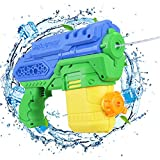 Anpro elektrische Wasserpistole Spritzpistole Spielzeug für Kinder und Erwachsene, Sommer Schwimmbad Party, Garten und Strand, 300 ml Wassertank