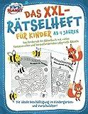 Das XXL-Rätselheft für Kinder ab 4 Jahren: Das fördernde A4-Rätselbuch mit fantasievollen und herausfordernden Labyrinth-Rätseln. Die ideale Beschäftigung im Kindergarten- und Vorschulalter!