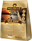 Wolfsblut | Wild Duck Senior | 15 kg | Ente | Trockenfutter | Hundefutter | Getreidefrei