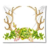 PPOU 3D-Kaktusblumendruck Yogamatte Wandkunst Tapisserie Hauptwanddekoration Hintergrund Stoff Tapisserie Decke A14 150x200