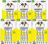 martec PET CARE Spot on Hund - unter 15 Kg - Parasitenabwehr auf pflanzlicher Basis - gegen Zecken, Milben, Flöhe - 18x Spot On für Hunde