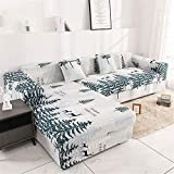 Sofabezug Sofaüberwurf Sesselschoner Sofaschoner Sesselschutz 1/2/3/4 Sitzer,B,145~185cm