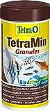 TetraMin Granules - langsam absinkendes Fischfutter, ideal für Fische in der mittleren Wasserschicht des Aquariums, 250 ml Dose