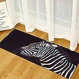 NHhuai Teppich Kinderzimmer, Schlafzimmer und die Küche geeignet Kreative rutschfeste Fußmatte mit Tiermotiven