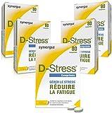 D-Stress | Hoch assimiliertes Magnesium, Taurin, Arginin und B-Vitamine | Herkunft Frankreich | 5er-Set
