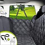 Meadowlark® Hundedecke für Auto Rückbank. Wasserdicht! Komplettschutz Comfort Autoschondecke für Hunde, Wasserfester Rücksitz Sitzbezug, ideale Autodecke für Haustiere, Schonbezüge Decke +2 Geschenk