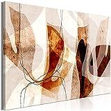 murando - Bilder Tropische geometrische Muster 60x40 cm Vlies Leinwandbild 1 TLG Kunstdruck modern Wandbilder XXL Wanddekoration Design Wand Bild - Abstrakt Formen wie gemalt a-A-0808-b-a