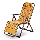 QNN Klappstuhl, Liege Im Freien Klappbarer Liegestuhl Liegestühle Garten Patio Strandterrasse Sonnenterrasse Freizeit Siesta Stuhl Schwangere Lieg