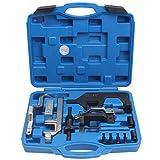 CCLIFE Motor Einstellwerkzeug Arretierwerkzeug Steuerzeiten Werkzeug Kompatibel mit BMW Mini Citroen Peugeot 1.4 1.6 16V N12 N13 N14 N16 N18