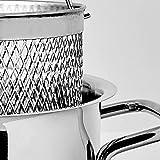Karaca Küchelieber Spargeltopf Edelstahltopf 28 Cm, Antihaftbeschichtung, Topf Pfannenset mit Glasdeckeln, Spulmaschinengeeignet, Edelstahl Spargeltopf 28 cm