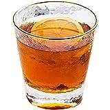 SYHSZY Kaffee- Teegläser Diamant Whisky Glas Phnom Penh Gehämmert Glas Tasse Wasser Tasse Home Wein Tasse Tee Tasse Glas Saft Tasse Tasse Japanische Art Pyrex Glas T