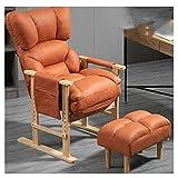 ZANZAN Bürostuhl Ergonomischer Schreibtischstuhl Stoff Computerstuhl mit hölzernen Armlehnen-Task-Stuhl/Doppelabteil Aufbewahrungstasche (Color : Grau)