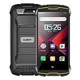 CUBOT Kingkong Mini 2 Outdoor Smartphone ohne Vertrag, Wasserdicht, Stoßfest, 4 Zoll Display, 3000mAh Akku, Android 10, Dual SIM, 3GB RAM/32GB, 8MP/13MP Kamera, Schwarz und Orang