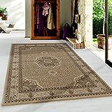Ayyildiz Wunderschöne Marrakesh Orientteppich kurzflor Orientalisch Traditional, rechteckig, Höhe 9mm, Kurzflor, Orient-Dekor, Schadstoffgeprüft Öko Tex Standard 100, Größe:240 x 340 cm, Farbe:Beige