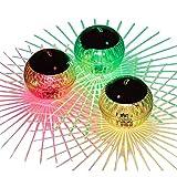MYXE Solar schwimmende Teich licht wasserdichte LED Farbe wechseln Pool licht hängende Kugel leuchten für Garten yol Schwimmbad Fountain Ask Tank u. Hochzeiten (Color : Warm Lights)