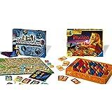 Ravensburger Scotland Yard, Brettspiel, Gesellschafts- und Familienspiel, für Kinder und Erwachsene & Der zerstreute Pharao - Gesellschaftsspiel für die ganze Familie, für Erwachsene und Kinder