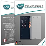 Slabo 4 x Displayschutzfolie für Sony Xperia XCompact Displayfolie Schutzfolie Folie Zubehör No Reflexion MATT
