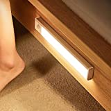 LED Schrankbeleuchtung mit Bewegungsmelder, Unterbauleuchte für Küche, Bett, Touch Dimmbar LED Nachtlicht, Sensor Licht USB Aufladbar Type-C, Warmweiß, 5 W, 250