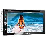 XOMAX XM-2D6911 Autoradio mit Mirrorlink, Bluetooth Freisprecheinrichtung, 6,9 Zoll / 17,5cm Touchscreen Bildschirm, FM Tuner, DVD, CD, SD, USB, 2 DIN