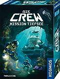 KOSMOS 680596 Die Crew - Mission Tiefsee, kooperatives Kartenspiel, für 3 bis 5 Spieler, mit Variante für Zwei Personen, Gesellschaftsspiel, Nachfolgerspiel des Kennerspiel des Jahres 2020 Die Crew