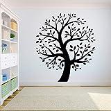 Baum Wandtattoo Aufkleber Schlafzimmer Baum des Lebens Wurzeln Big Tree Wandaufkleber Kinderzimmer Wanddekoration Wandbild Aufkleber A7 42X48CM