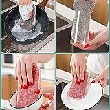 HUHUI 4 Stück Schwamm Schmutzradierer für alle Arten von Schmutz Verunreinigungen in Küche Starke Reinigungskraft Reinigung E