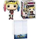 Harley Quinn [Roller Derby]: Funk o Pop! Heroes Vinyl-Figuren-Set mit 1 kompatiblen 'ToysDiva' Schutzfolie (307 - 44376 - B)