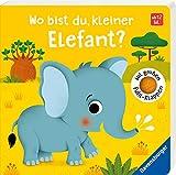 Wo bist du, kleiner Elefant?: Mit großen Fühlklappen