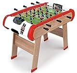 Smoby 640001 - Multifunktions Tischfußball Powerplay 4-in-1 - Wandelbarer Spieltisch, Tischfußball, Billard, Tischtennis oder Hockey, für Kinder ab 8 Jahren