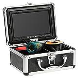 KKmoon Fischfinder Kamera 30M Unterwasser HD 1200TVL für EIS/Sea/Fluss Angeln mit 7 Zoll LCD Monitor (30M)