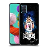 Head Case Designs Offiziell lizenzierte WWE Göttin LED Bild Alexa Bliss weiche Gel-Hülle kompatibel mit Samsung Galaxy A51 (2019)