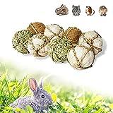 YUNXANIW Kaninchen Spielzeug, Hamster Spielzeug, Meerschweinchen Zubehoer, Hamsterkugel, Nager Zubehör, Kaninchen Zubehör für Kleintiere zum Nagen und gegen Langeweile, Gerbils