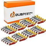 Bubprint Kompatibel Druckerpatronen als Ersatz für Canon PGI-550 CLI-551 XL für Pixma IP7200 IP7250 IX6850 IP8750 MG5450 MG5550 MG5650 MG6350 MG6450 MG6650 MG7150 MG7550 MX725 MX920 MX925 40er-Pack