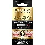 Eveline Cosmetics Lip Therapy Professional Non-invasive Lip Enralging Treatment 2in1, Sugar Lip Scrub 7ml abd Hyaluronic Lip Filler 12ml